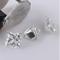 Quality Jewelry Making Diamond Moissanite For Lady Solitaire Ring , Moissanite Loose Stones wholesale