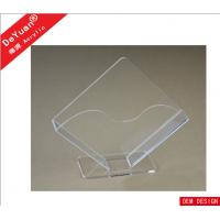 Buy cheap Irregular Transaprent Hotel  Acrylic Holder Stand 190 * 170MM from wholesalers