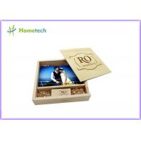 Buy cheap Maple And Walnut Custom Wood Flash Drives Photo Album Shape For Wedding Gifts from wholesalers