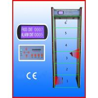 Quality Walk-through Metal Detector,Door frame metal detector, JLS-200C(6 Zones&LCD display) wholesale