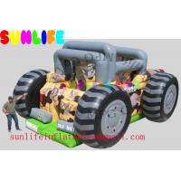 Buy cheap inflatable ATV car combo slide from Wholesalers