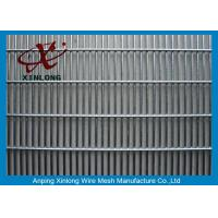 Buy cheap Anti Climb Mesh Fence / Galvanized Walkway School Security Fencing from wholesalers