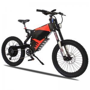 China E Bike Electric Powered Bicycle , Stealth Bomber Electric Bike 3000W B 52 Brushless Motor on sale