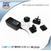 Buy cheap Wall Mount AC DC Power Adapter 12v 2a With Interchangeable Plugs PSE UL GS Approved from Wholesalers