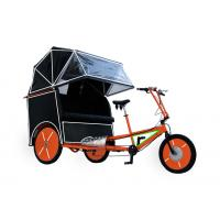 China 500w powerful adult tricycle with cover on sale