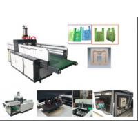 Quality T-shirt bag automatic punching machine with multi size die moulds wholesale