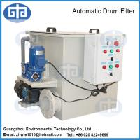 Buy cheap Fish Farm Automatic Rotary Drum Filter from Wholesalers