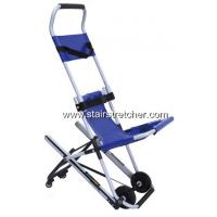 Buy cheap Disabled Carrying Emergency Stair Chair Safety Four Wheel Blue from Wholesalers