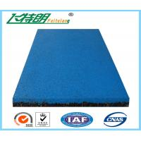 Quality EPDM Granule Red safety pad / rubber floor mat  / gym rubber floor mat wholesale