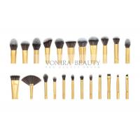 Private Label Cosmetic Brushes Eyeliner Eye Brow Foundation Powder Liquid Cream 23 Pieces