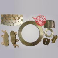 Buy cheap Dry Copper-Base Friction Material Powder Metallurgy Parts for Dry Clutch Or Dry Brake from Wholesalers