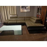 Buy cheap Contemporary Modular Corner Sofa Luxury Leather 2.5 CBM for Living Room from Wholesalers