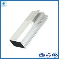 Imitation steel color 6063 T5 extruded aluminium kitchen profile for kitchen cabinet