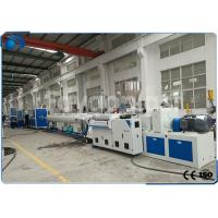 Buy cheap 50~160mm PVC Pipe Extrusion Machine / UPVC Extrusion Machinery Double Screw from Wholesalers