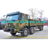 Buy cheap WITH ISO CCC APPROVAL All Wheel Heavy Equipment Trucks 8x8 371hp EuroII 50t Sinotruk HOWO  Brand from Wholesalers