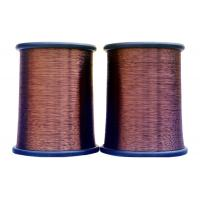 China Enameled Aluminum wire(EAL),insulating film coating,widely used for fan motor on sale