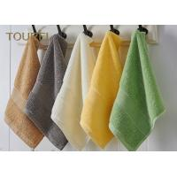 Buy cheap Embroidery Hotel Face Towel Bright Color 100% Cotton Face Flannels from Wholesalers