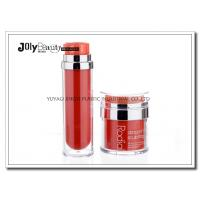 Buy cheap PP Material Red Plastic Empty Makeup Containers Bottles Capacity 80ml from Wholesalers