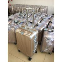 2017 Hot sale Aluminum ABS PC TROLLEY LUGGAGE SUITCASE in good quality