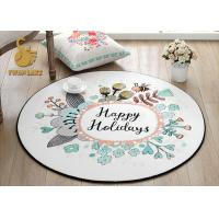 Buy cheap Easy Clean Round Entrance Rugs With Non Slip Backing OEM / ODM Available from wholesalers