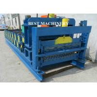 Buy cheap Roof Tile Roll Forming Machine Double Deck Various Profile Corrugated and Glazed from Wholesalers