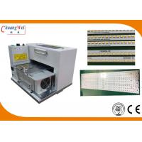 Buy cheap Ce PCB Separator 9 groups Blades Cutting MCPCB Aluminium LED Strip Panel from wholesalers