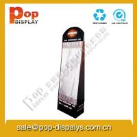 Buy cheap Marketing Cardboard Hook Display Stands Black For Makeup / Masks from Wholesalers