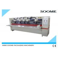 Buy cheap Manual Thin Blade Slitter Scorer machine , Corrugated Cardboard Cutting Machine from Wholesalers