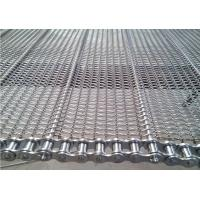 Buy cheap Competitive Price Straight Running Chain Edge Cooling Mesh Belt from wholesalers