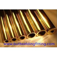 Buy cheap Brass Pipe / Copper Nickel Tube OD 6 - 8mm For Military Industry from wholesalers