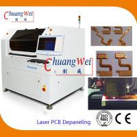 Buy cheap 10W UV Laser PCB Cutter Machine / Depaneling Machine With 460 * 460mm Working Area from wholesalers