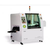 Buy cheap small size  220 1 preheat zones lead free dual wave soldering machine from Wholesalers