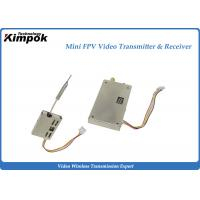 Buy cheap 5.8Ghz Analog Wireless Transmitter 200mW Mini CCTV Video Transmitter and Receiver 9 Channels from wholesalers
