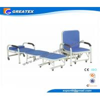 Buy cheap Mult - Purpose Hospital Accompany Sofa Foldable Chair with Six silent castors from Wholesalers