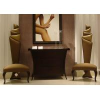 Accent  Modern Lobby Furniture Wooden Console Table And Chairs For Entrance