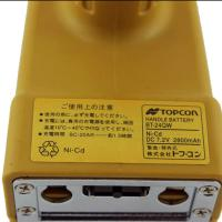 2800mah 7.2 V Nicd Battery, Yellow Topcon Bt 24q Rechargeable Battery Pack