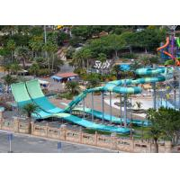 Buy cheap 9 - 18M Platform Height Water Park Slide Four Person Round Rafts from wholesalers
