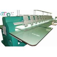 Buy cheap 12 Heads 9 Needles Flat Embroidery Machine , 110V / 220V from Wholesalers