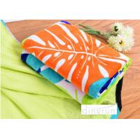 Quality Big Plain Style Velour Luxury Cool Beach Towels 100*180cm Extra Absorbent wholesale