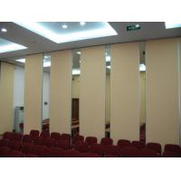 Buy cheap Hotel Acoustic Rolling Operable Folding Partition Walls With Pass Doors from wholesalers