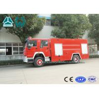 Buy cheap Sinotruk Howo 4 x 2 Fire Fighting Truck For Emergency Rescue Use from wholesalers