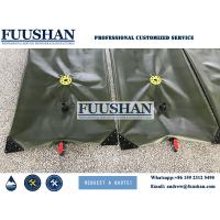 Buy cheap Fuushan Customized 500000 liter PVC Fabric Flexible Water Tanks from wholesalers