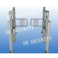 Buy cheap Optical Waist Height Acess Control Baffle Turnstile from Wholesalers