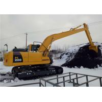 Buy cheap Unloading Coal Long Reach Excavator Booms 18 Meter For Komatsu Excavator PC200 from Wholesalers