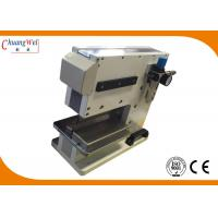 Buy cheap PCB Separator Pcb V Cut Machine With Pneumatically Driven / Electromagnetic Valve Control from Wholesalers
