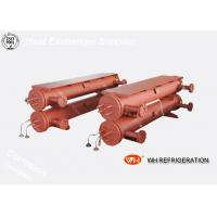 Quality Marine Shell And Tube Type Heat Exchanger , R410A Water Cooled Condenser wholesale