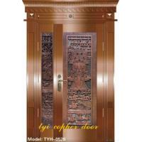 Buy cheap Master-secondary Art Copper Door from Wholesalers