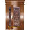 Buy cheap Master-secondary Art Copper Door from Wholesalers