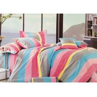 Buy cheap Queen Size 100 Cotton Bedding Sets for Girls , Red / Yellow / Blue / Grey from Wholesalers