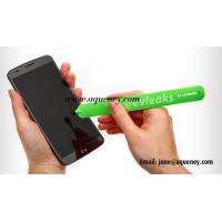 China Silicone Touch Screen Pen Touch Pen,Various color Silicone stylus pen with slap bracelet on sale